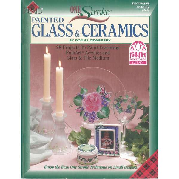Painted Glass & Ceramics